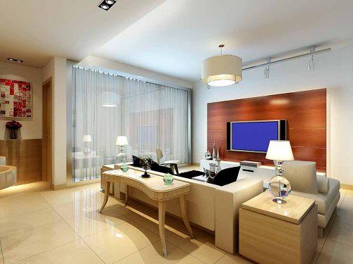 簡約客廳裝潢設計