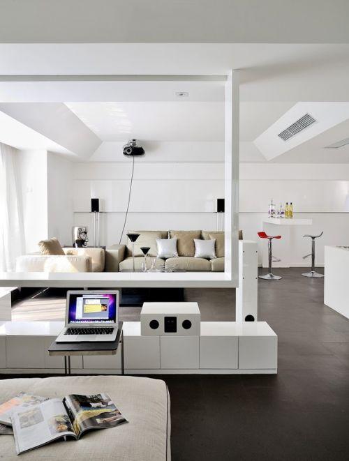 簡約風格客廳裝潢設計2018