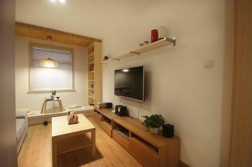 淡雅質樸簡約客廳效果圖設計