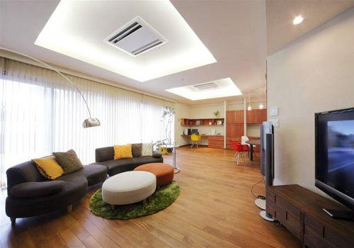 溫馨簡約客廳裝修設計