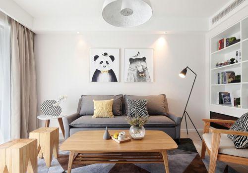 溫馨簡約風格客廳裝修設計