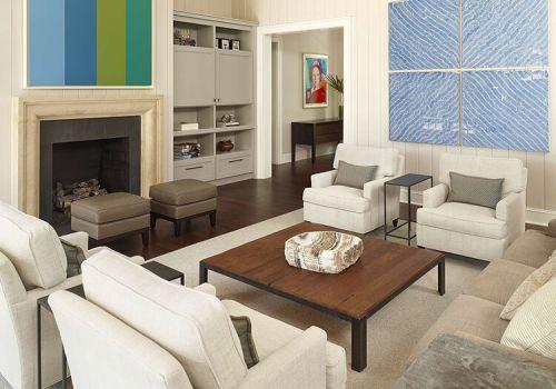 簡約客廳裝修效果欣賞