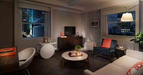現代簡約風格客廳設計裝修圖片