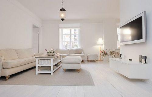 文藝清新簡約風格客廳裝修布置
