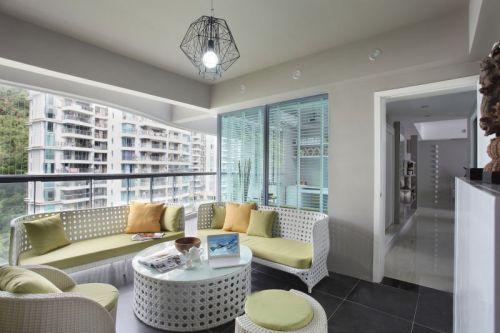 2018灰色簡約風格客廳效果圖設計