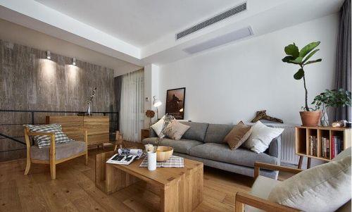 質樸雅致簡約風格客廳設計圖