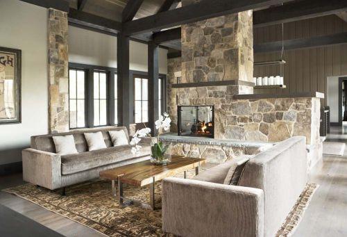 灰色雅致簡約客廳設計裝潢
