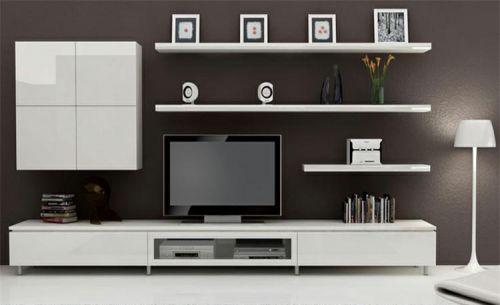 清爽簡約灰色客廳裝修布置