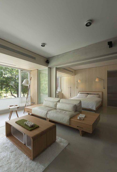 質樸簡約客廳裝修效果圖