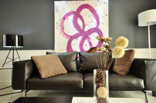 簡約風格客廳裝修設計圖