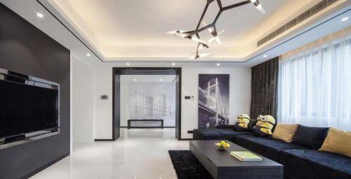 時尚創意簡約雅致客廳設計案例