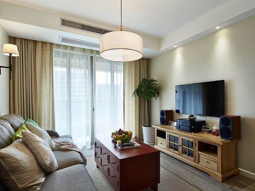 現代簡約客廳設計圖欣賞