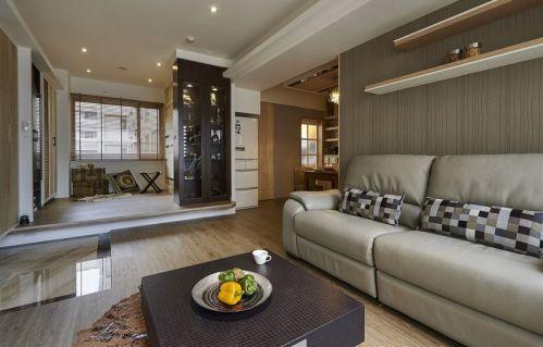 雅致大氣時尚現代風格客廳裝潢美圖
