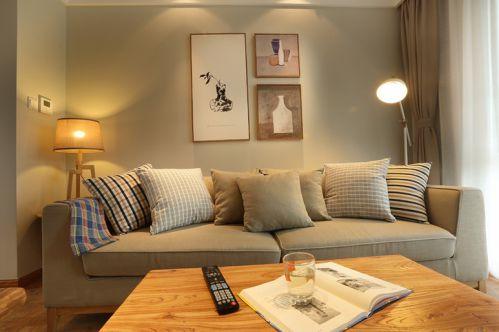 休閑簡約風格客廳裝修圖片