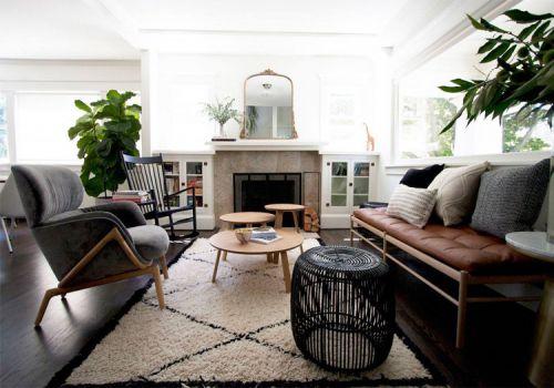 簡約現代風格客廳裝修設計
