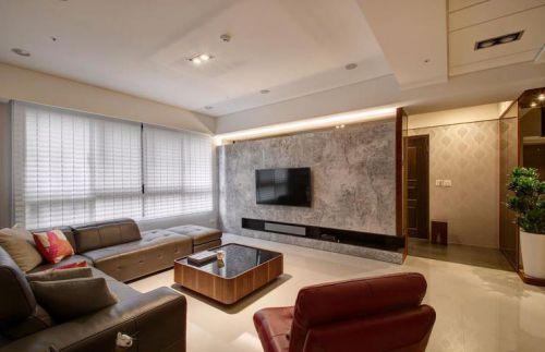 2018典雅溫馨現代風格客廳裝潢裝修圖