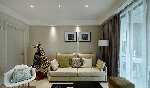 休閑簡約客廳裝潢案例