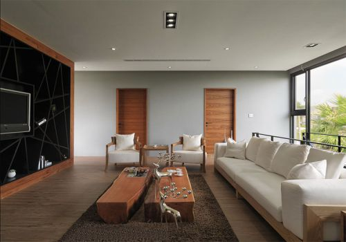 簡約現代風格客廳裝修效果