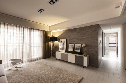 時尚個性精致現代風格客廳大氣裝修案例