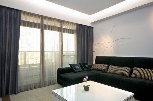 现代风格优雅简约客厅装饰效果图设计