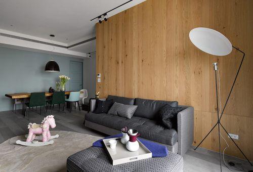 舒?#39318;?#28982;橙色现代风格客厅装潢美图赏析