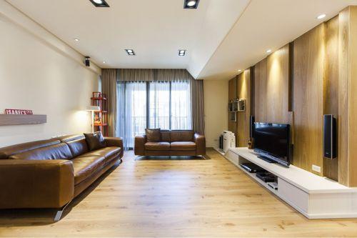 明亮时尚雅致现代风格客厅装修
