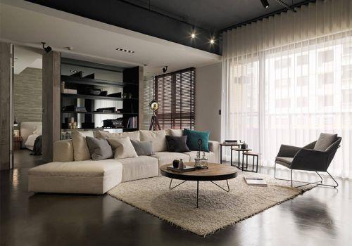 格調現代風格客廳裝修效果圖