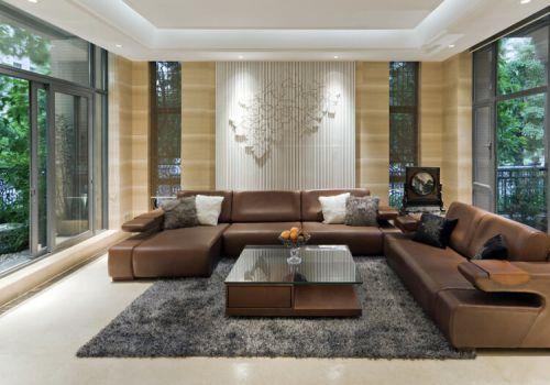 大氣現代客廳設計效果