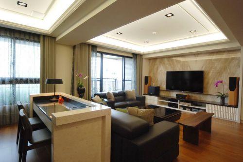 雅致大氣現代風格客廳設計圖