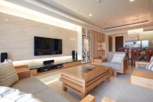 質樸現代風格客廳裝修美圖賞析
