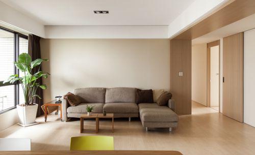 現代灰色時尚客廳設計案例