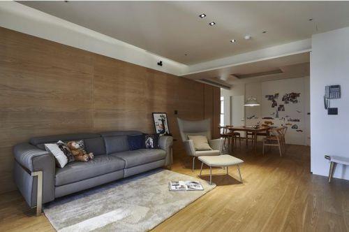 質樸現代風格客廳裝修設計欣賞