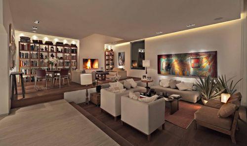 現代風格灰色客廳設計效果圖賞析