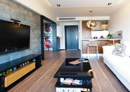 現代摩登創意摩登客廳設計圖片