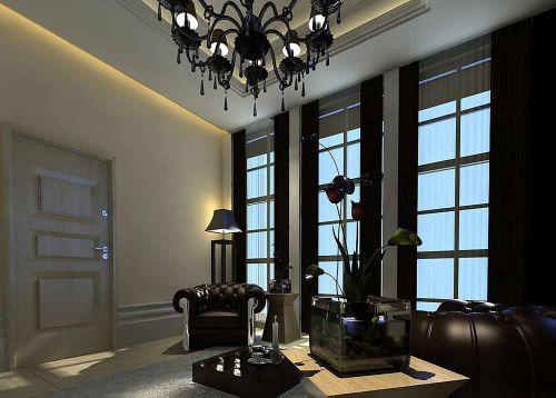 華麗炫酷時尚現代風格客廳設計