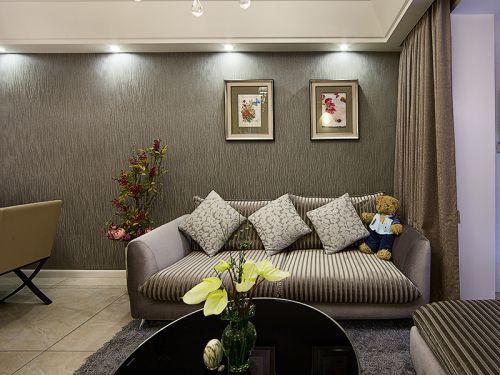 2018時尚現代小戶型客廳設計