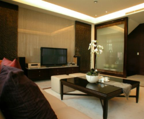 時尚現代風格客廳裝修設計圖