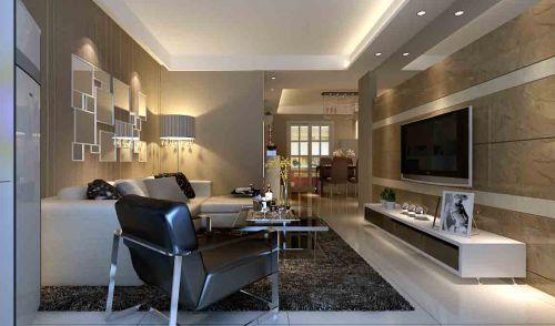 現代客廳裝修設計圖