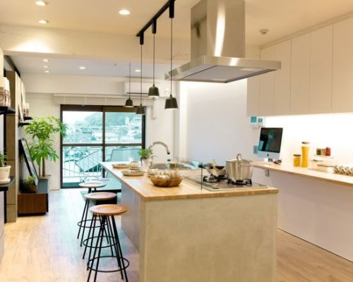 开放式厨房设计图片