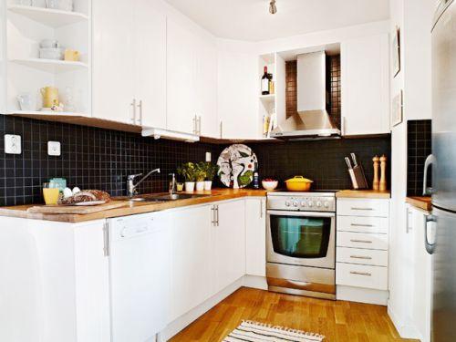 北欧厨房效果图