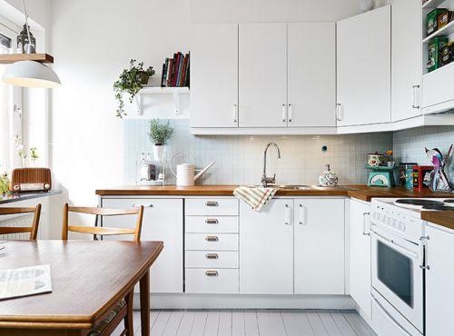 北欧厨房收纳图片