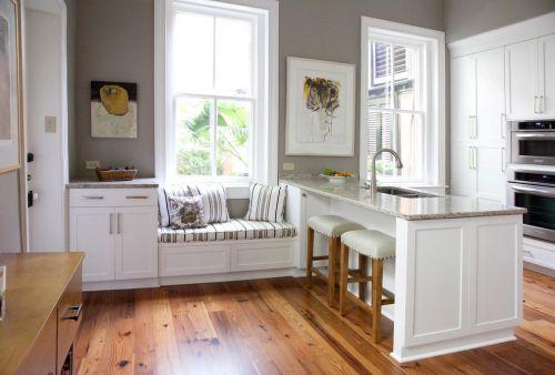 现代简约简欧北欧厨房飘窗&落地窗图片