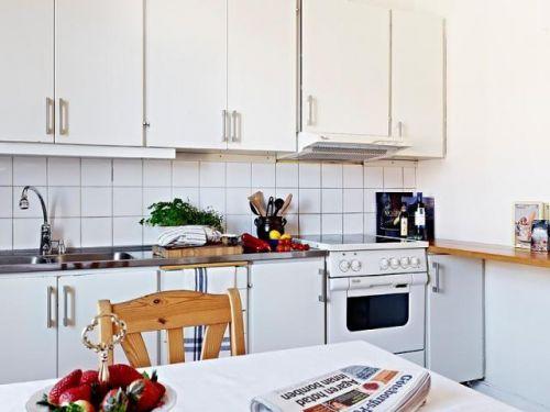 北欧厨房收纳装修案例