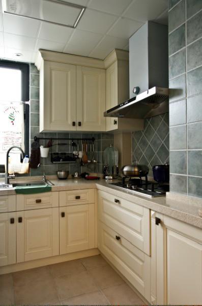 美式北欧厨房装修效果展示