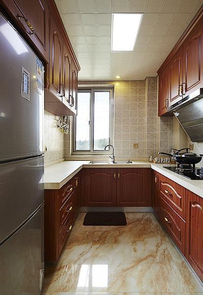 现代简约欧式美式厨房装修图