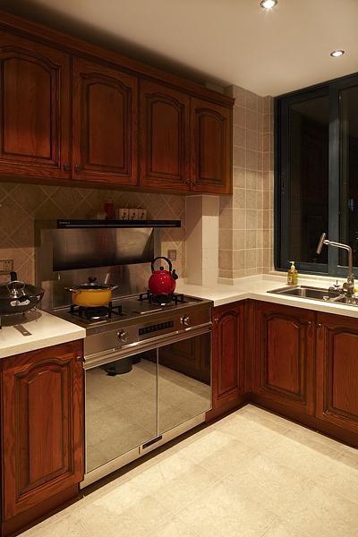欧式厨房装修效果展示