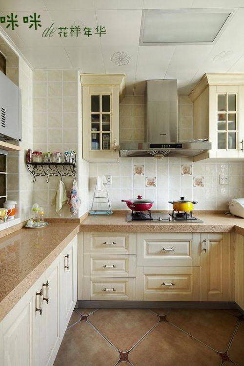 田园美式厨房设计案例