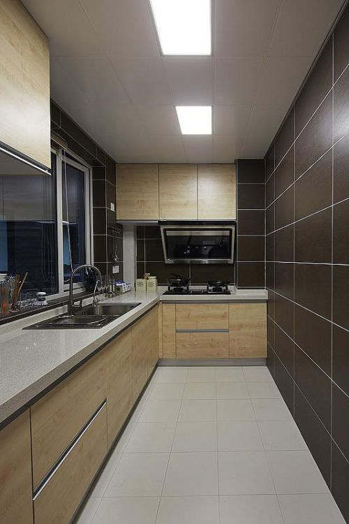 现代简约简欧厨房设计案例展示