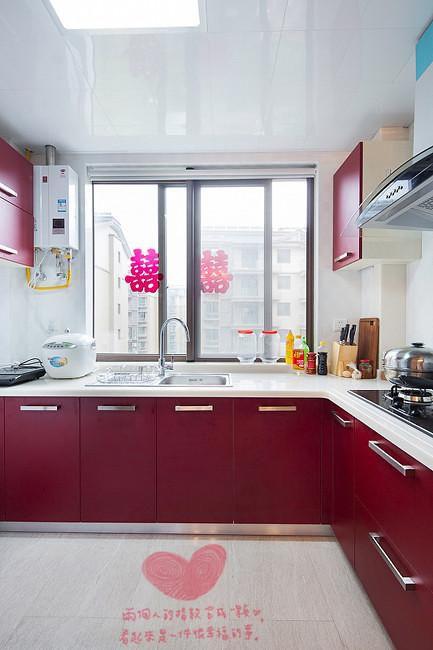 现代简约简欧厨房图片