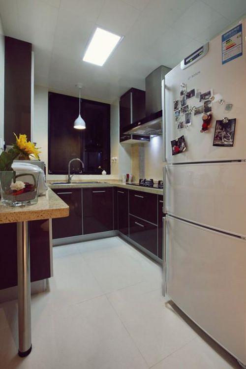 现代简约简欧厨房设计案例